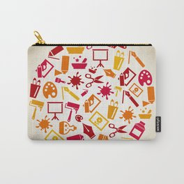 Art a circle Carry-All Pouch