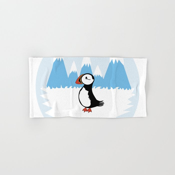 Puffin Hand & Bath Towel