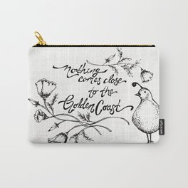 Golden Coast  Carry-All Pouch