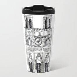 Notre Dame Sketch Travel Mug