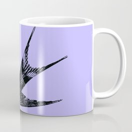 Swallow on Blue Coffee Mug