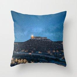 Castle Rock Colorado Throw Pillow