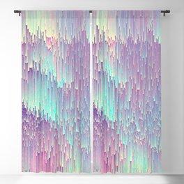 Iridescent Glitches Blackout Curtain