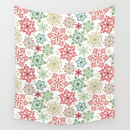 Snow Colors Wall Tapestry