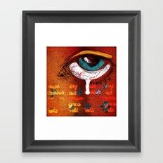 Allergic Framed Art Print