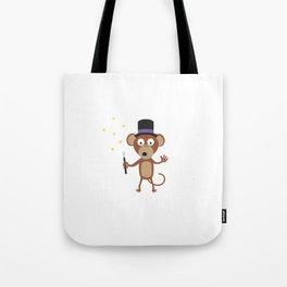 magical monkey Tote Bag