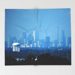 Toronto Haze Throw Blanket