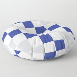 Checked Floor Pillow