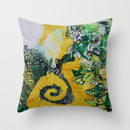 Coronet Throw Pillow