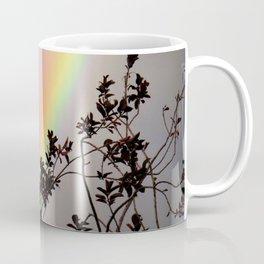 Rainbow Bush Silhouette Coffee Mug