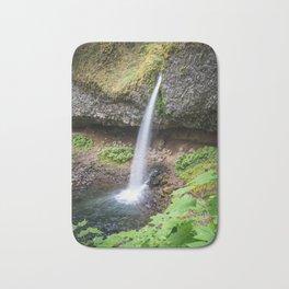 Ponytail Falls - Columbia River Gorge Bath Mat
