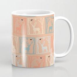 Framed Reindeer Coffee Mug