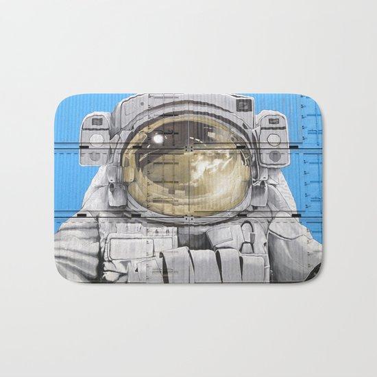 Cosmonaut Astronaut 4 Bath Mat