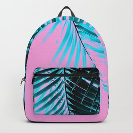 Palm Leaves Summer Vibes #3 #tropical #decor #art #society6 Backpack