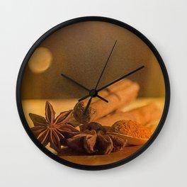 Christmas Spice. Wall Clock