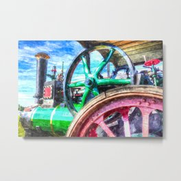 Clayton And shuttleworth Art Metal Print