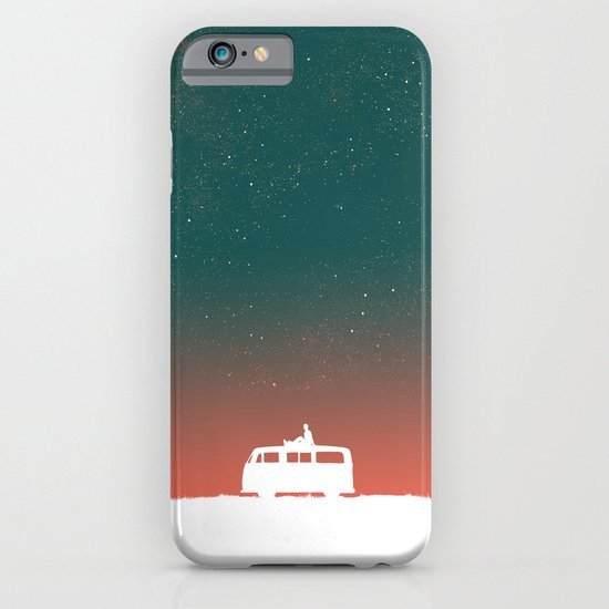 Quiet Night - starry sky iPhone & iPod Case