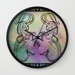Capricorn Let Loose Wall Clock
