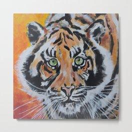 Tiger, Tiger Metal Print