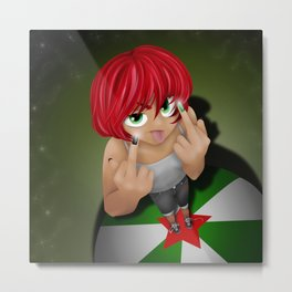 Stinky fingers Metal Print