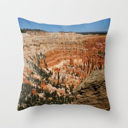 Amazing Bryce Canyon View Throw Pillow