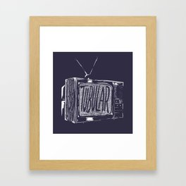 tubular Framed Art Print