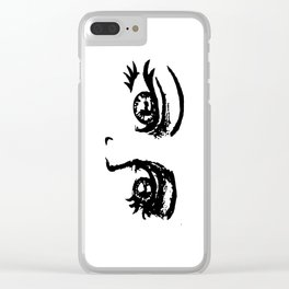 Peek Clear iPhone Case
