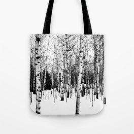 WhiteTrees Tote Bag
