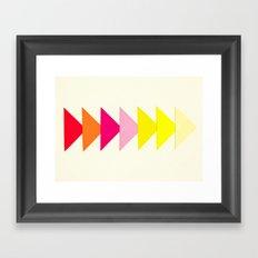 Arrows II Framed Art Print