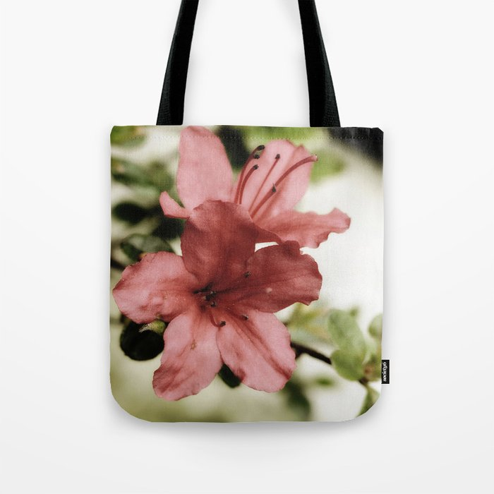 SOFT PINK FLOWER #1 - Azaleas Tote Bag