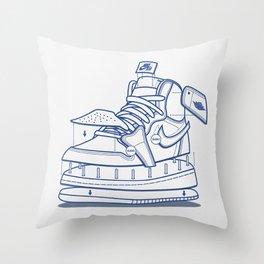 Jodan 1 Poster Throw Pillow