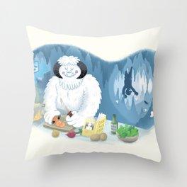 Frozen Dinner Throw Pillow