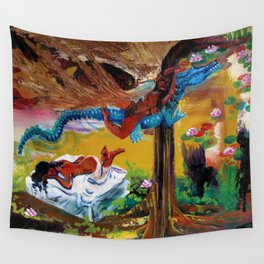 Goddess Never Not Broken Wall Tapestry