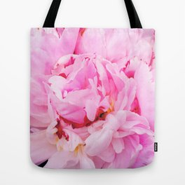 Pretty Pink Peony Tote Bag
