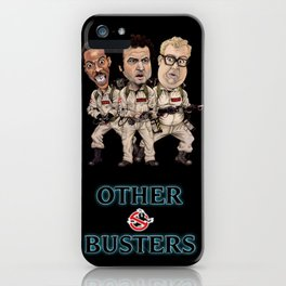 Otherbusters with Glow Title iPhone Case