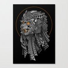 Barbarian Lion Canvas Print