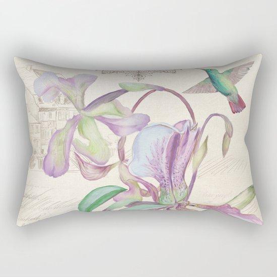 Macro flower #12 Rectangular Pillow