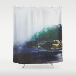 Fractions A46 Shower Curtain