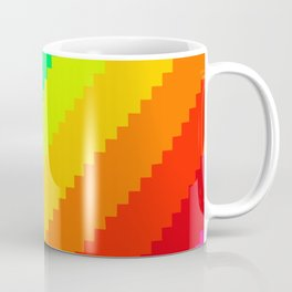 Pixel Rainbow Dreams Coffee Mug