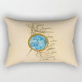 Jin's Compass (Rebel of the Sands) Rectangular Pillow