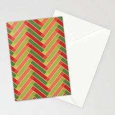 Holly Go Chevron Stationery Cards