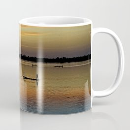 River Niger sunset - Segou, Mali, Africa Coffee Mug