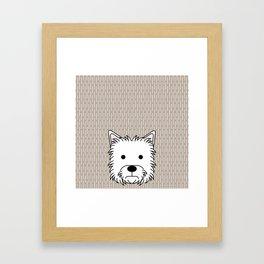 West Highland Terrier Framed Art Print