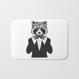 Fancy Raccoon Bath Mat