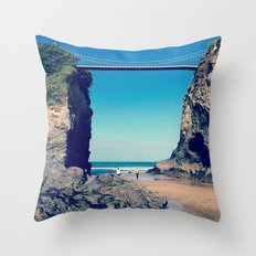 Avenue To Happiness  Throw Pillow