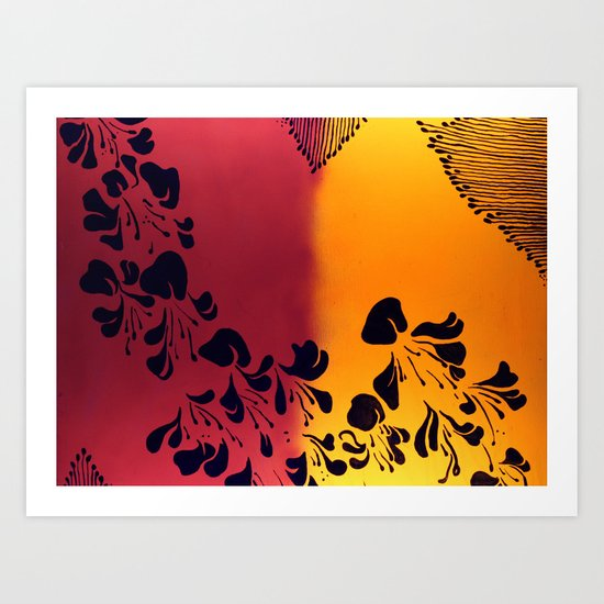 The Flower of our Discontent Art Print