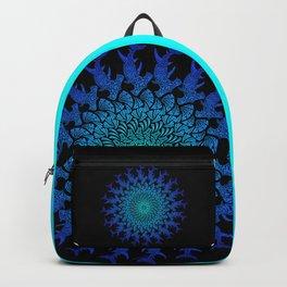 Ombre Tribal Hammerhead Mandala Backpack