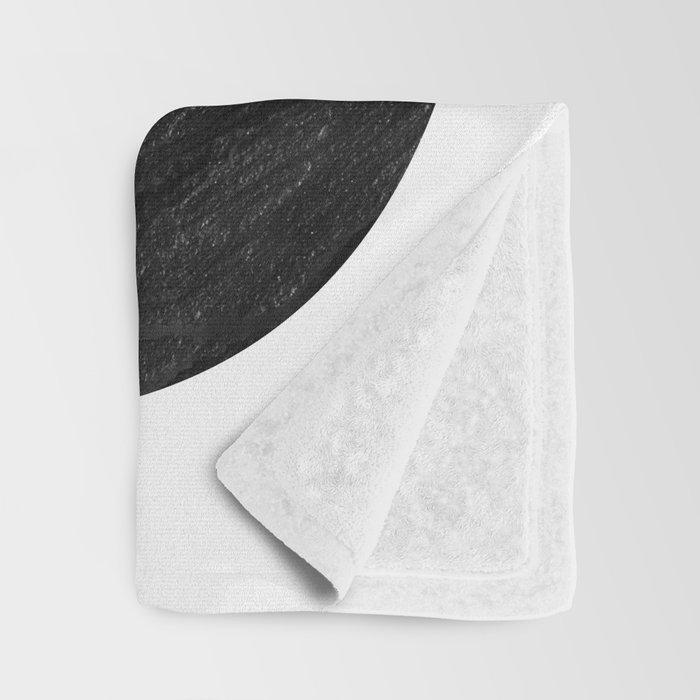 graphite ampersand Throw Blanket