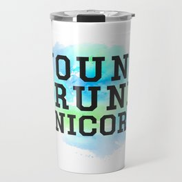 Young Drunk Unicorn - Design Travel Mug