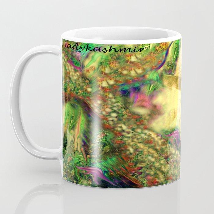Nude mermaid & jelly fish ladykashmir Coffee Mug